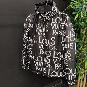 Louis Vuitton men black yellow raincoats